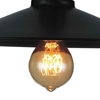 "Picture of 8"" 1 Light Down Mini Pendant with Black finish"