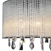"Picture of 8"" 2 Light Bathroom Sconce with Chrome finish"