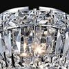 "Picture of 8"" 2 Light Bowl Flush Mount with Chrome finish"