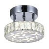"Picture of 8"" LED  Flush Mount with Chrome finish"