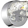 "Picture of 8"" LED Wall Sconce with Chrome finish"