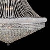 "Picture of 88"" 42 Light Down Chandelier with Chrome finish"