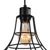 "Picture of 9"" 1 Light Down Mini Pendant with Black finish"