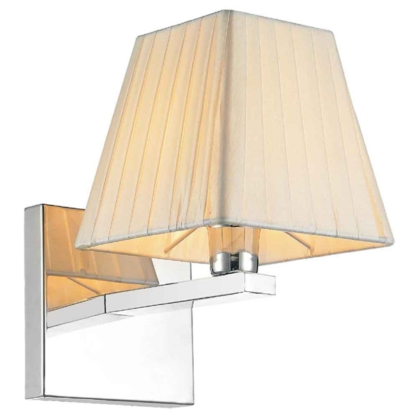 "Picture of 9"" 1 Light Wall Sconce with Chrome finish"