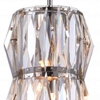 "Picture of 9"" 2 Light Down Mini Chandelier with Bright Nickel finish"