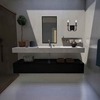 """Picture of 9"""" 2 Light Vanity Light with Black finish"""