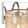"Picture of 9"" 2 Light Vanity Light with Chrome finish"