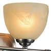 "Picture of 9"" 2 Light Vanity Light with Satin Nickel finish"