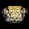 "Picture of 9"" 2 Light Wall Sconce with Gold finish"