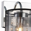 """Picture of 9"""" 3 Light Vanity Light with Chrome finish"""