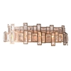 """Picture of 9"""" 4 Light Wall Sconce with Champagne finish"""