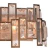 "Picture of 9"" 4 Light Wall Sconce with Champagne finish"