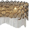 "Picture of 9"" 4 Light Wall Sconce with Chrome finish"