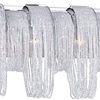 "Picture of 9"" 6 Light Vanity Light with Chrome finish"