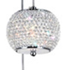 "Picture of 98"" 9 Light Multi Light Pendant with Chrome finish"